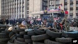 Донецк, Украина, 9 апреля 2014г.