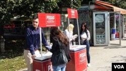 Ulična kampanja CCI-a u Sarajevu