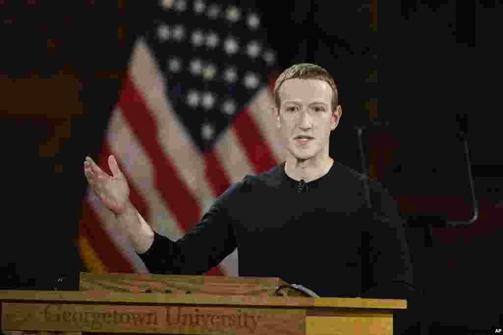 مارک زاکربرگ موسس فیسبوک روز پنجشنبه در دانشگاه جورجتاون سخنرانی کرد. مدتی است که فیسبوک به خاطر نقشش در انتخابات زیر ذره بین کنگره آمریکا است. برخی قانونگذاران آمریکایی می گویند این شرکت باید مانع دخالت و تاثیر گذاری خارجی ها از طریق شبکه های اجتماعی در انتخابات آمریکا شود.