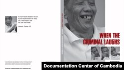"Book cover of ""When the Criminal Laughs"" by Chy Terith. (Courtesy of Documentation Center of Cambodia)"