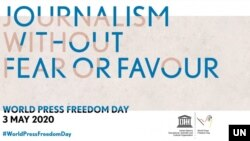 World Press Freedom Day 3 May 2020. ႏုိင္ငံတကာ သတင္းလြတ္လပ္ခြင့္ေန႔ ေမလ ၃ရက္ေန႔