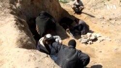 قبرستان های کندز٬ پناه گاه معتادین مواد مخدر