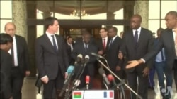 Manuel Valls promet de renforcer la coopération militaire avec le Burkina
