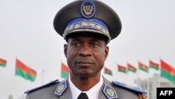 Sabon Shugaban Mulkin Soja Janar Gilbert Diendere a Ouagadougou birnin kasar Burkina Faso.