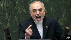 Ali Akbar Salehi, kepala urusan nuklir Iran mendesak IAEA agar menolak permintaan tuntutan dari Amerika (foto: dok).