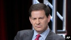 "FILE - Mark Halperin participates in a panel discussion during the Showtime Critics Association summer press tour in Beverly Hills, Calif., Aug. 11, 2016. The veteran journalist is apologizing for what he termed ""inappropriate"" behavior after five women claimed he sexually harassed them while he was a top ABC News executive."