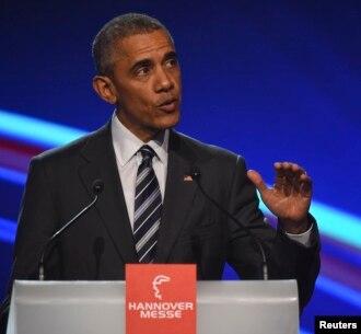 """""""Estados Unidos debería escribir las normas (comerciales)...Otros países deberían cumplir las reglas que Estados Unidos y sus socios establezcan, y no al contrario"""", dice el presidente Barack Obama."""