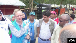 OIC members visit Rohingya camp in Cox's Bazar in Bangladesh