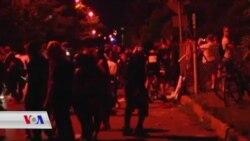خۆپیشاندانی ناڕەزایی دژ بە کوشتنی کوڕێی ڕەشپێست بە دەستی پۆلیس