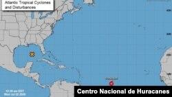 La tormenta tropical Gonzalo continúa aumentando su fuerza y podría convertirse en un huracán el jueves 23 de julio de 2020.