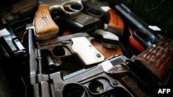 Մեքսիկայում «Vida con Armas» («Կյանք առանց զենքի») ծրագրի շրջանակներում հանձնված որոշ զենքեր