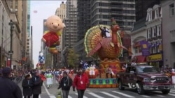 Millions Celebrate Thanksgiving in US, Overseas