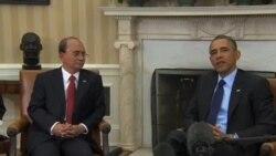 奧巴馬贊緬甸改革 敦促停止襲擊穆斯林