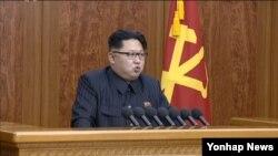 김정은 북한 국방위원회 제1위원장이 지난 1일 새해를 맞아 육성으로 신년사를 발표했다.
