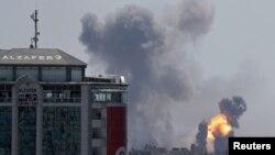 مناقشه در غزه - عکس از آرشیو
