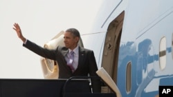 바락 미국 오바마 대통령 (자료사진)