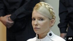 Pemimpin oposisi Ukraina, Yulia Tymoshenko, telah mengakhiri aksi mogok makan yang telah dijalaninya selama 17 hari (Foto: dok).