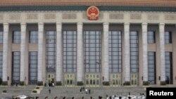 召开全国人大会议的北京人大会堂