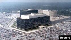 美國國家安全局總部大樓。