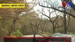 ثبت فیلم تیراندازی یک تبهکار در دوربین ماشین پلیس