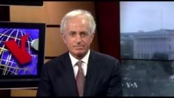 Corker Discusses Iran, Syria, North Korea