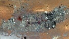 Hoton masana'antar iskar gas dake Algeria