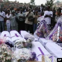 Tens of thousands were reportedly killed in Rwanda's genocide