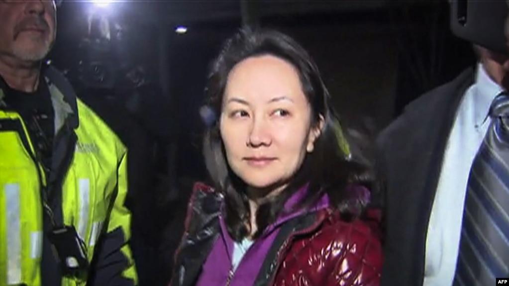 Bà Mạnh Vãn Châu, Giám đốc Tài chính Huawei.