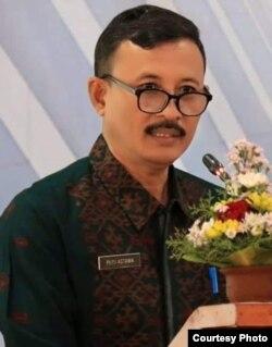 Putu Astawa Kepala Dinas Pariwisata Provinsi Bali (foto: courtesy).