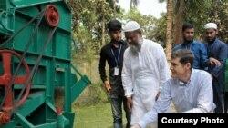US Ambassador in Bangladesh, Earl R. Miller visits Bangladesh Agricultural University in Mymensingh.