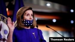 資料照:美國國會眾議院議長佩洛西(House Speaker Nancy Pelosi, D-CA)