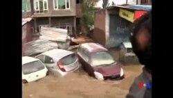 2014-09-13 美國之音視頻新聞: 印巴遭遇嚴重洪災
