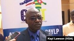 Idrissou Akibou, Global alumni association of Togo (GAAT), à Lomé, Togo, le 14 novembre 2016. (VOA/Kayi Lawson)