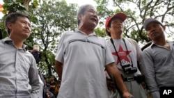越南抗議中國的示威者