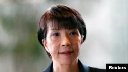 La nouvelle ministre japonaise des Affaires intérieures et des Communications, Sanae Takaichi. (Photo Reuters/Issei Kato)