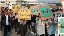 رویارویی روستاییان چین با دولت محلی