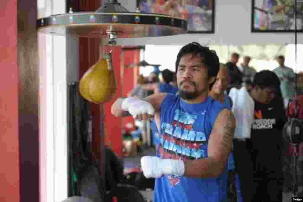 Manny Pacquiao Boxe $160 Milhões/ ano Filipinas