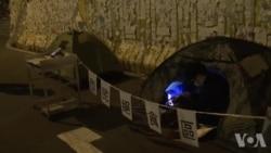 香港市民发起接力绝食声援绝食学生