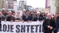 Protestë kundër korrupsionit në Prishtinë