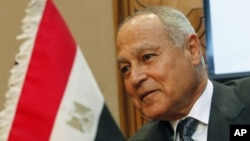 Egypt's Foreign Minister Ahmed Abul Gheit (file photo – December 15, 2010)