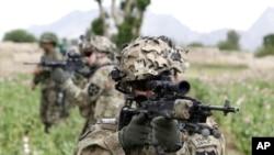 아프가니스탄 주둔 미군 (자료사진)