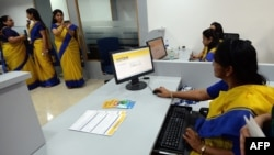The Bharatiya Mahila Bank features an all female staff and seeks to increase the economic power of Indian women.