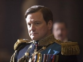 Colin Firth as King George VI in Tom Hooper's film THE KING'S SPEECH.