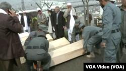 امروز اجساد ۲۰ تن از این قربانیان از ترکیه به کابل منتقل شد.