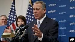 El presupuesto nacional ha sido tema de agrio debate entre Obama y los líderes republicanos del Congreso.