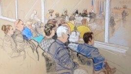 Članovi porodica žrtava prate pretparničnu raspravu u zatvoru Gvantanamo.