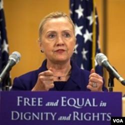 Menlu Amerika Hillary Rodham Clinton (foto: dok).