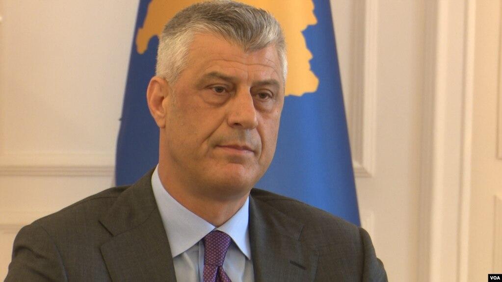 Thaçi: Jo ndarje të Kosovës por korrigjim të kufijve