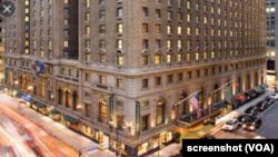 PIA Hotel di New York. Sebuah hotel di New Mexico, AS, mempertimbangkan peraturan baru federal dari Presiden Joe Biden yang mewajibkan semua pengusaha dengan lebih dari 100 pegawai, harus divaksinasi. (Foto: VOA)