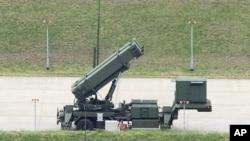 台灣愛國者三型導彈。
